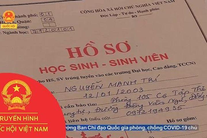 NGHỊCH LÝ ĐIỂM ƯU TIÊN XÉT ĐẠI HỌC - Truyền Hình Quốc Hội Việt Nam