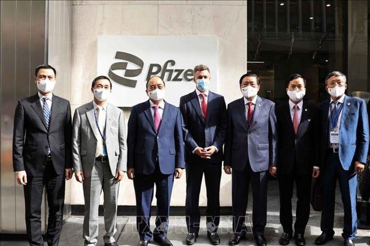 Pfizer cam kết cung cấp đủ 31 triệu liều vaccine cho Việt Nam trong năm nay - Báo VOV