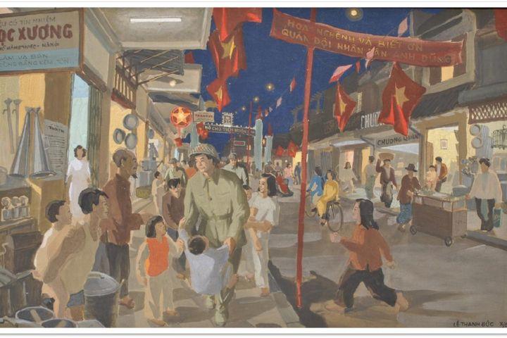 Trưng bày 25 tác phẩm nghệ thuật gợi nhớ 'Ký ức Hà Nội' - Báo An Ninh Thủ Đô
