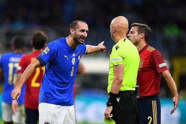 Trung vệ Chiellini: 'Tuyển Ý đứt chuỗi bất bại là điều cần thiết' - Báo Pháp Luật TP.HCM