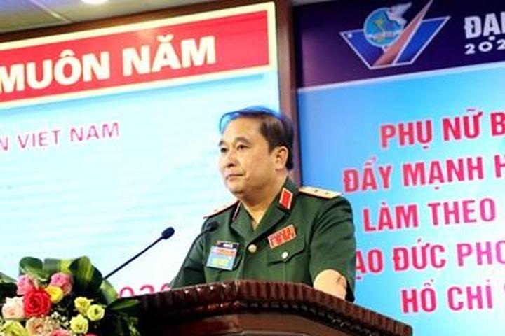 Bộ Tổng Tham mưu tổ chức Đại hội đại biểu Phụ nữ lần thứ VI - Báo Quân Đội Nhân Dân