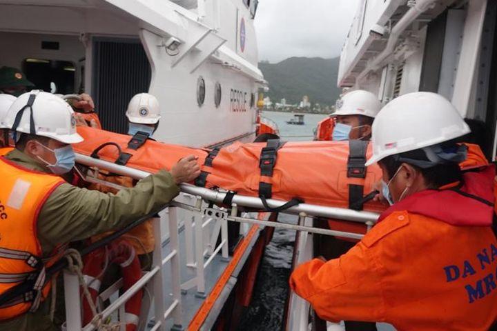 Cứu ngư dân gặp nạn trên biển - Công an Đà Nẵng