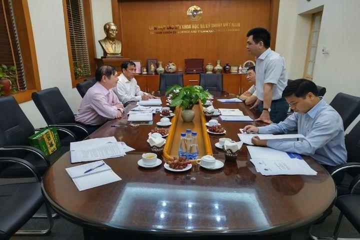Liên hiệp Hội Việt Nam làm việc với Hội đồng Dân tộc Quốc hội - Báo Tri Thức & Cuộc Sống