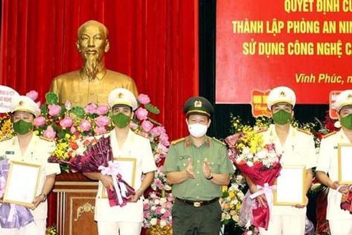 Thành lập Phòng An ninh mạng Công an tỉnh Vĩnh Phúc - Báo Tiền Phong