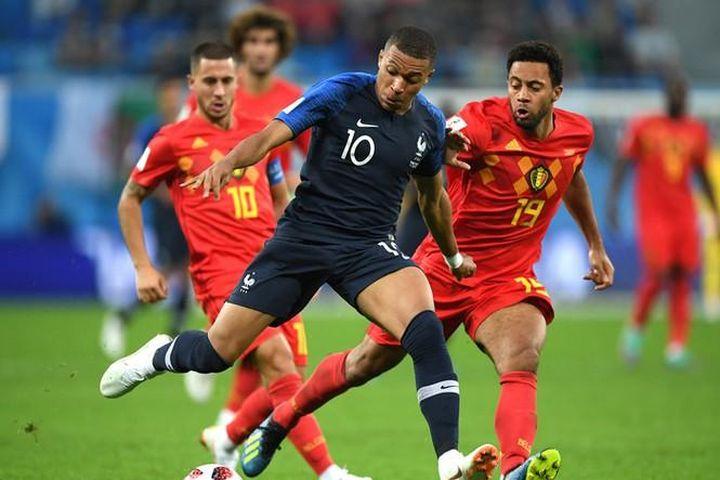 Bán kết UEFA Nations League giữa Bỉ - Pháp: Long tranh hổ đấu - Báo Tin Tức TTXVN