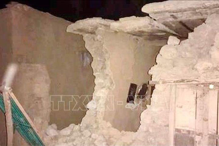 Động đất tại Pakistan: Ban bố tình trạng khẩn cấp tại tỉnh Balochistan - Báo Tin Tức TTXVN