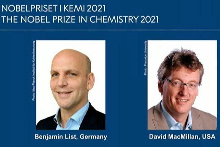 Nobel Hóa học 2021 vinh danh nghiên cứu phát triển chất hữu cơ bất đối xứng làm xúc tác - Báo Khánh Hòa