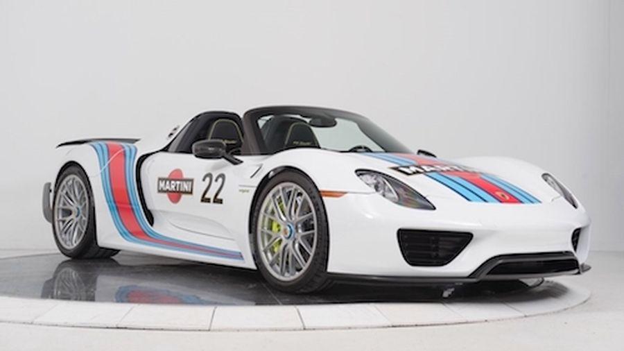 Thuốc độc' Porsche 918 Spyder triệu đô độ tem đấu Martini - Báo Kiến Thức