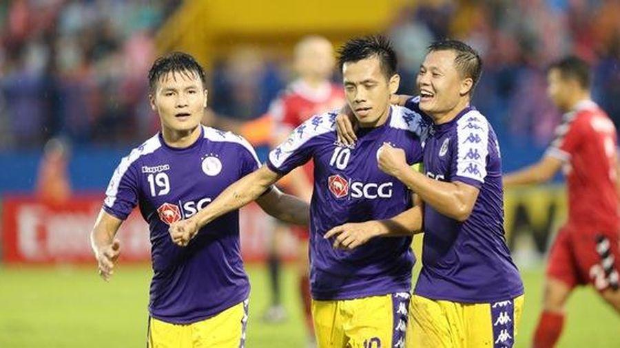Chung kết AFC Cup lượt đi: Hà Nội FC thắng nhờ trọng tài công tâm