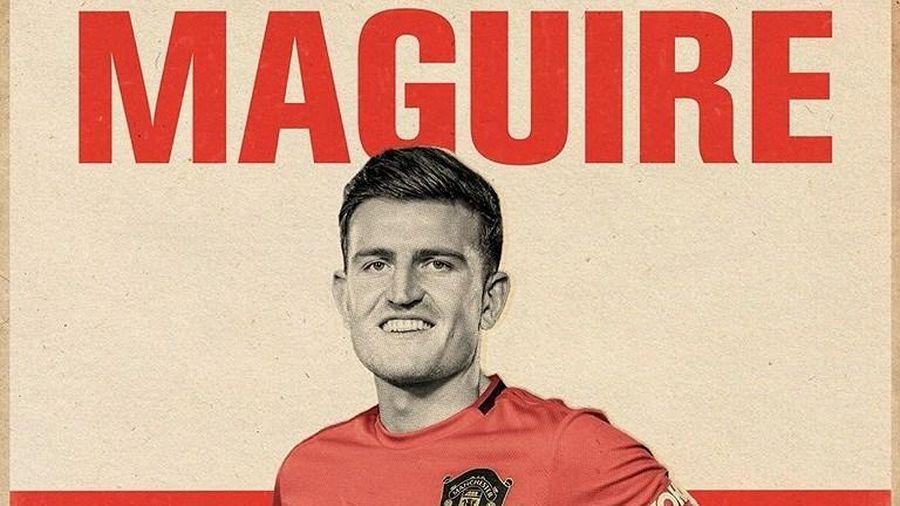 Harry Maguire mang số áo huyền thoại ở Man Utd