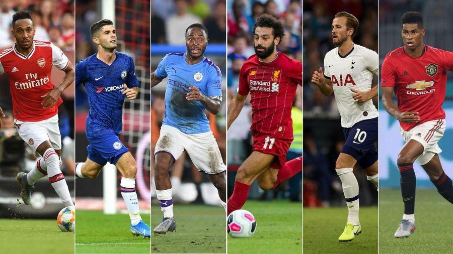 Bộ sưu tập áo đấu sân nhà của các đội bóng Premier League 2019/2020