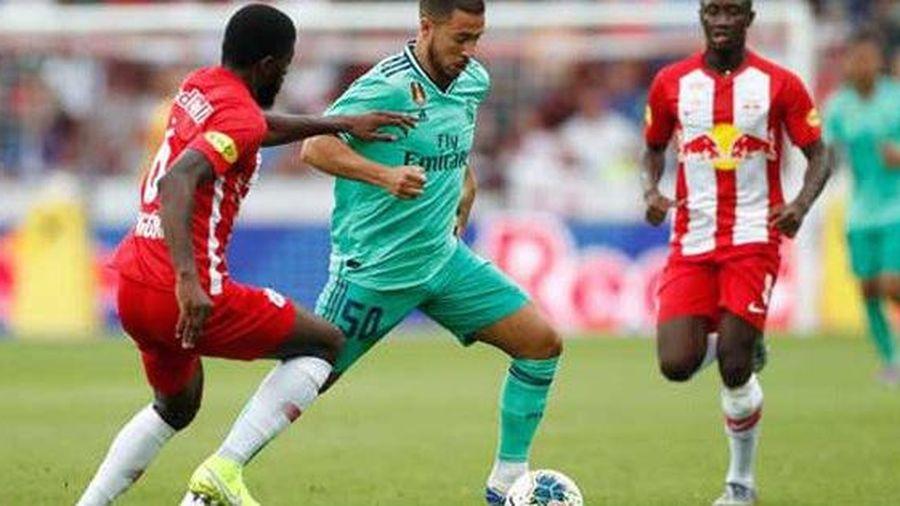 Hazard khai hỏa, Real Madrid thắng nhọc nhằn 'bò đỏ' Salzburg