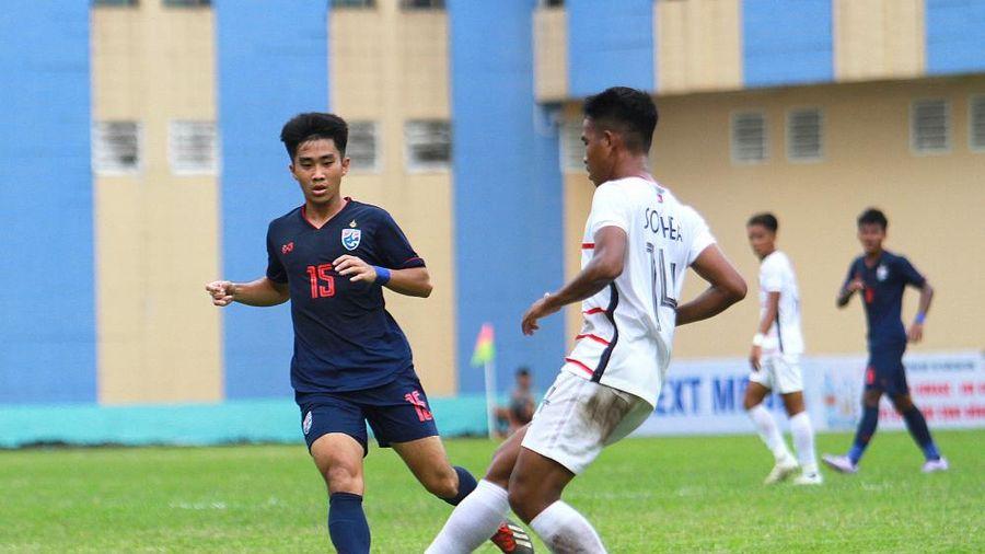 CĐV xấu hổ, báo Thái Lan gọi trận thua Campuchia là 'thất bại lịch sử'