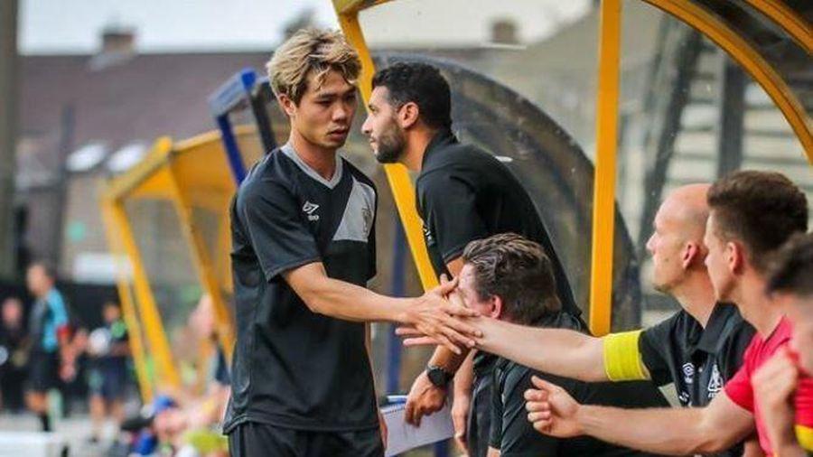 VIDEO: Công Phượng có hành động đẹp sau trận thắng của Sint-Truidense