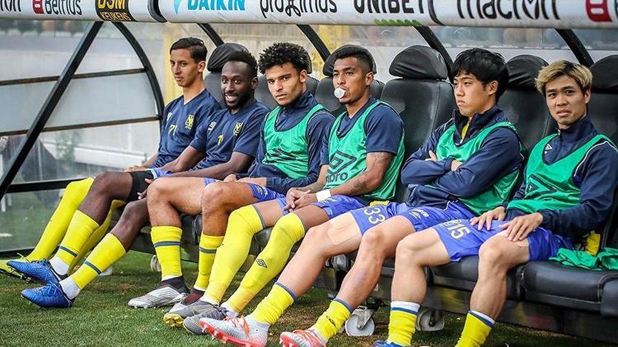 Công Phượng nhận 'tin dữ' từ đội bóng Bỉ