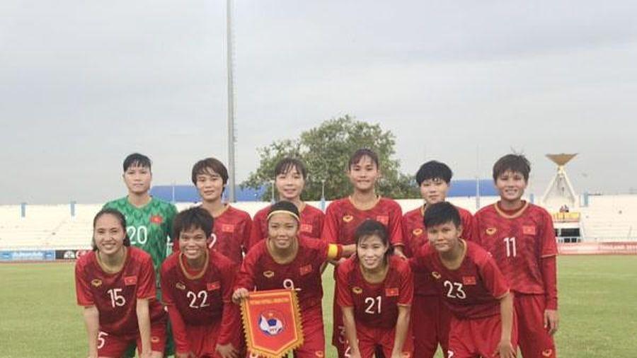 AFF Cup 2019: Nữ Việt Nam 'vùi dập' đối thủ không thương tiếc
