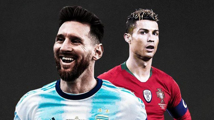 Messi bỏ xa Ronaldo 16 bậc, liệu có đúng?