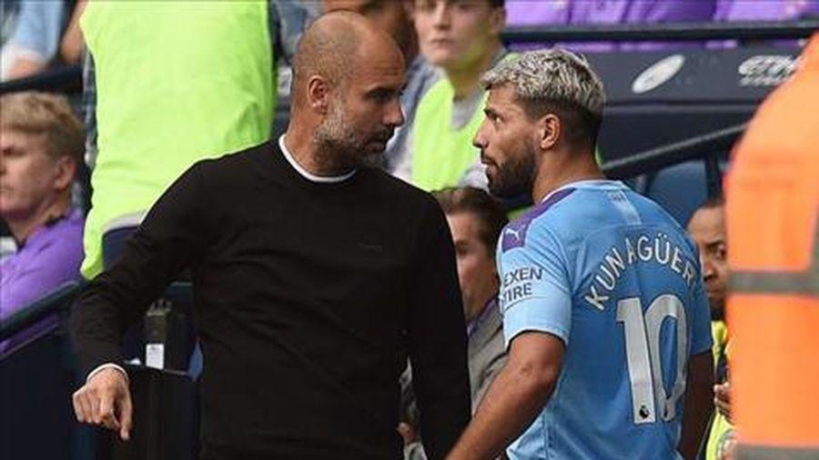 Pep Guardiola nói gì sau màn cãi vã với Aguero?