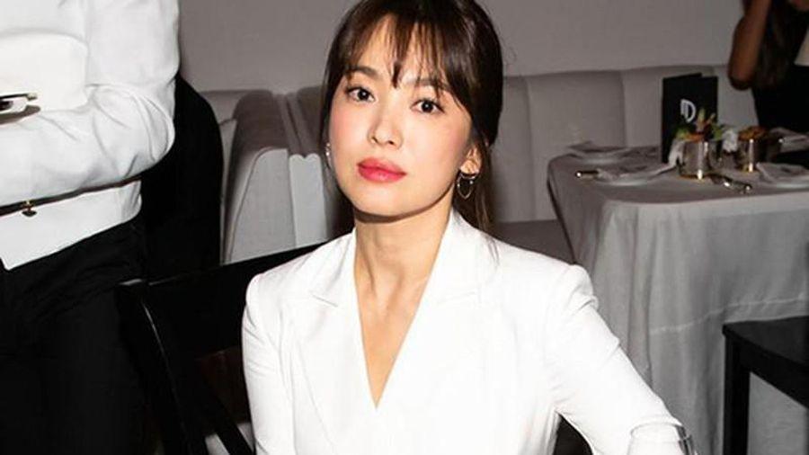 Hậu scandal ly hôn, Song Hye Kyo lộ rõ nếp nhăn, mỡ thừa ...