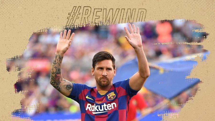 Bạn có biết ai là cầu thủ được Messi thần tượng?