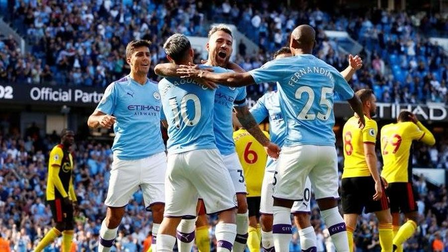 Man City 8-0 Watford: Kinh hoàng kỷ lục 18 phút 5 bàn