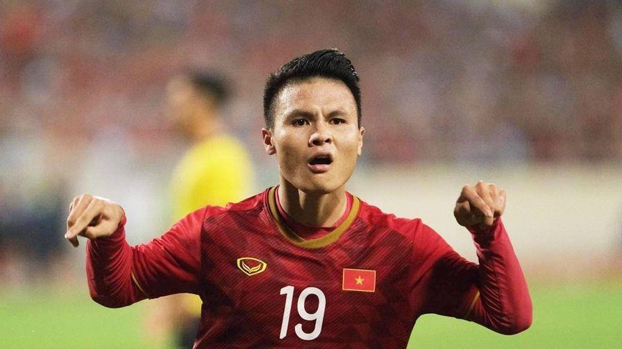 ĐT Việt Nam thắng Malaysia: Quang Hải tỏa sáng