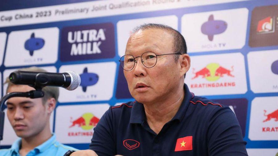 HLV Park Hang-Seo tuyên bố Việt Nam sẽ thắng Indo