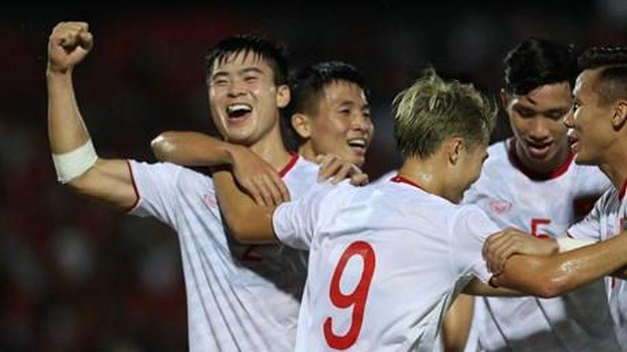 Cận cảnh chiến thắng ấn tượng của Việt Nam trước Indonesia