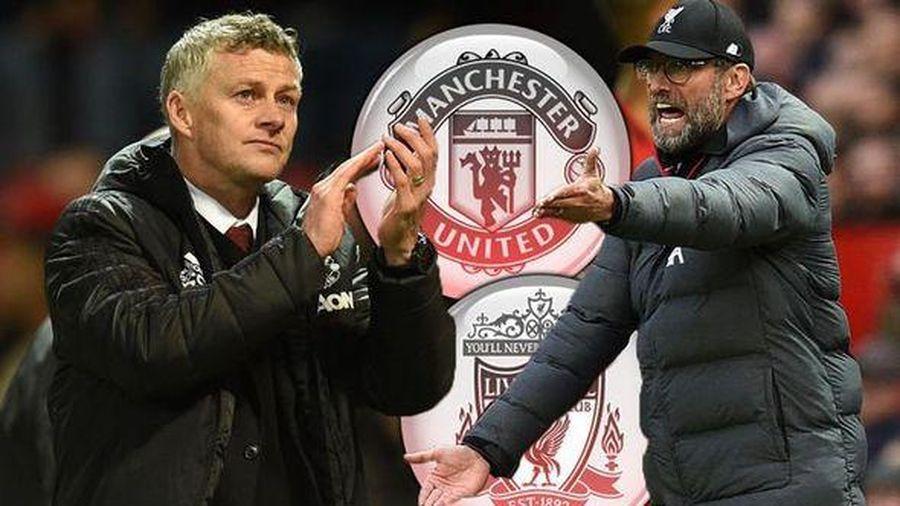 Jurgen Klopp và Solskjaer 'khẩu chiến' sau trận MU 1-1 Liverpool