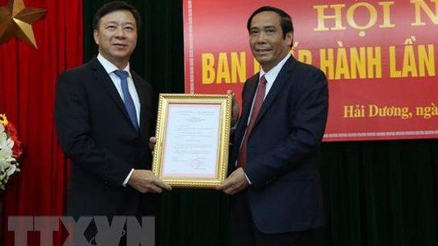 Quyết định của Ban Bí thư về công tác cán bộ tỉnh Hải Dương