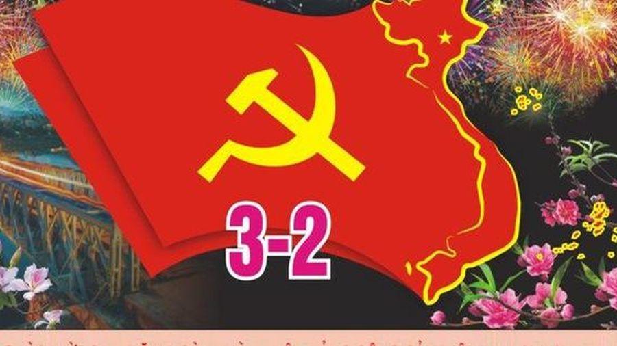 Tuyên truyền kỷ niệm 90 năm thành lập Đảng Cộng sản Việt Nam