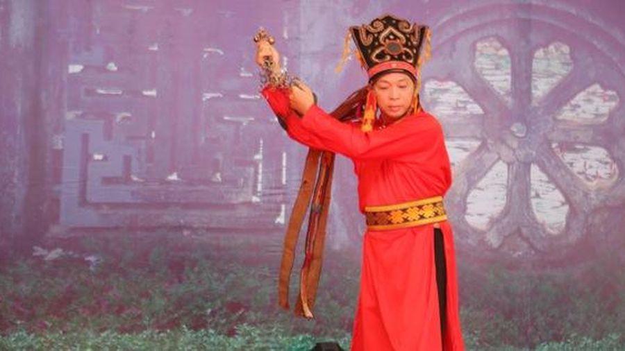 Trình diễn Di sản văn hóa phi vật thể Nghi lễ Then, Cao Bằng