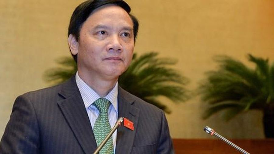 Quốc hội miễn nhiệm ông Nguyễn Khắc Định
