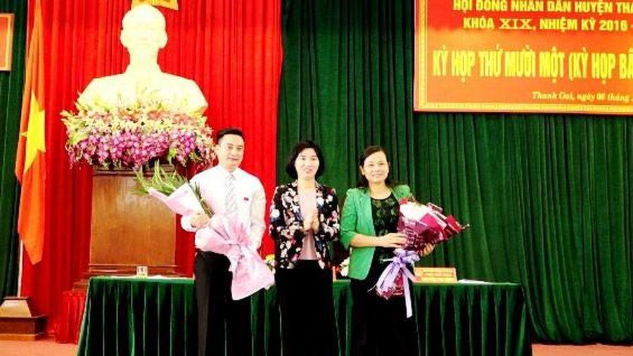 Hà Nội: Trưởng Ban Tổ chức Huyện ủy làm Chủ tịch UBND huyện Thanh Oai
