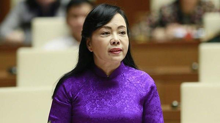 Quốc hội bỏ phiếu tán thành miễn nhiệm Bộ trưởng Bộ Y tế Nguyễn Thị Kim Tiến