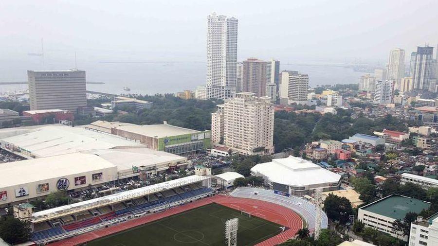 Tiền trạm sân thi đấu của U-22 Việt Nam tại Philippines
