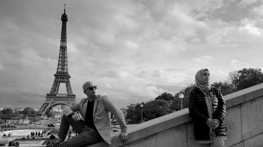 Thời gian ngưng đọng ở Pháp qua bộ ảnh đen trắng