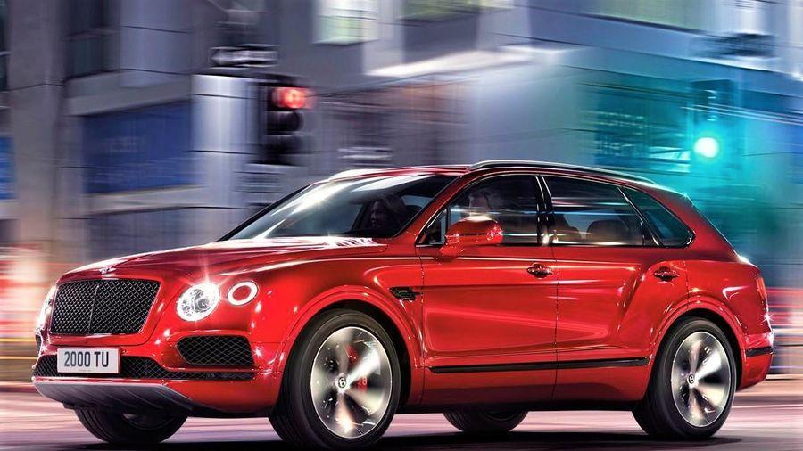 SUV siêu sang Bentley Bentayga có thêm bản 7 chỗ thực dụng hơn