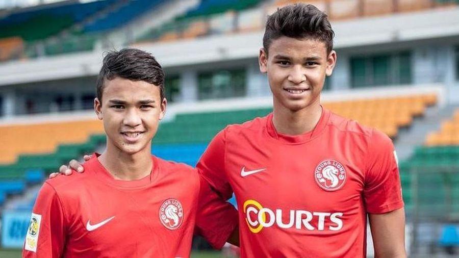 HLV U22 Singapore triệu tập hai con trai để đối đầu U22 Việt Nam