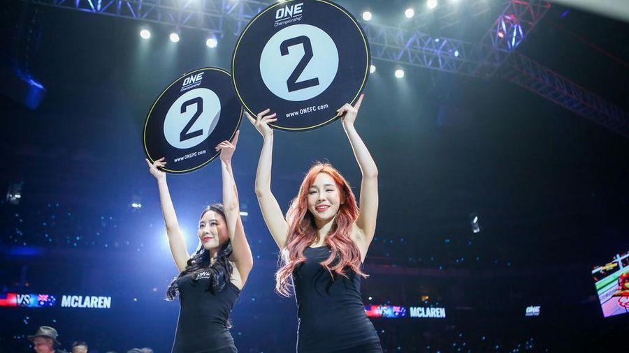 Người mẫu tại ONE Championship nhận lương hàng chục nghìn USD