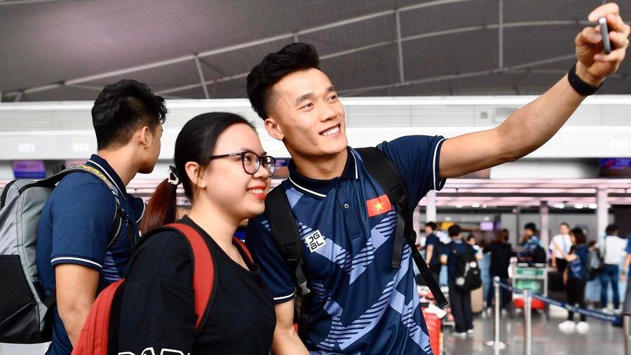 U22 Việt Nam rời TP.HCM, sẵn sàng cho SEA Games 30