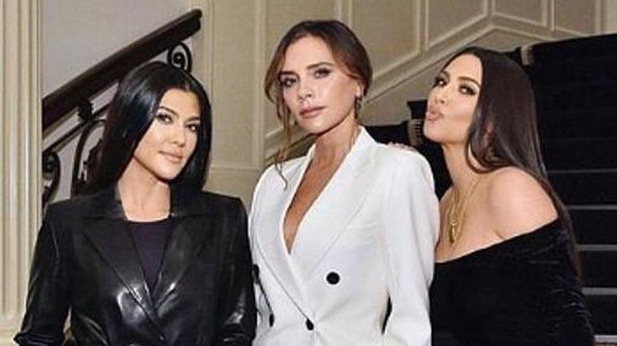 Kim Kardashian đọ sắc với Victoria Beckham