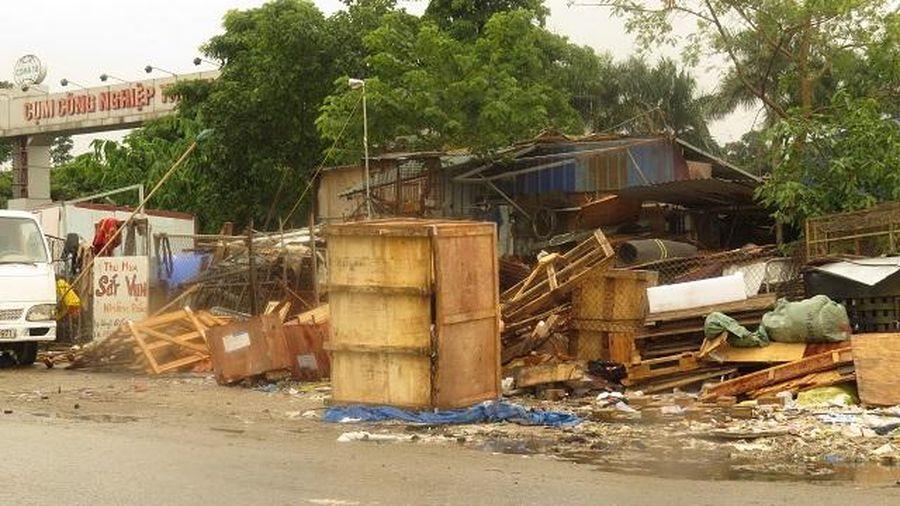Tại Cụm công nghiệp Thanh Oai: Công an huyện xác nhận có vi phạm đất đai