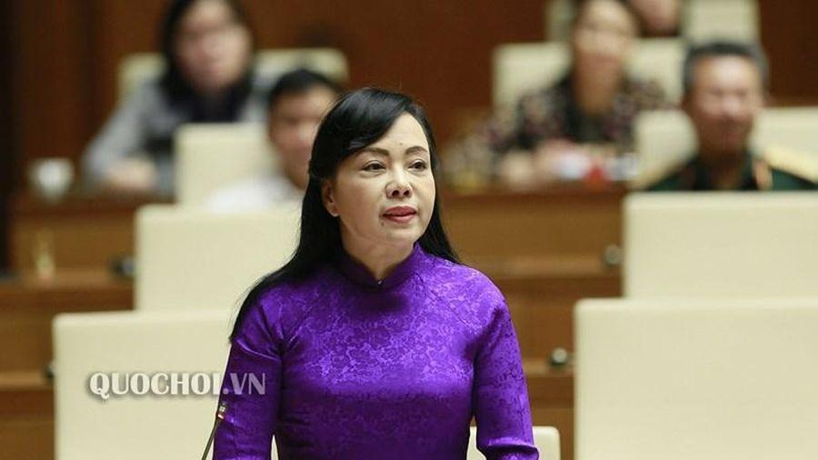 Thủ tướng trình Quốc hội phê chuẩn miễn nhiệm Bộ trưởng Bộ Y tế