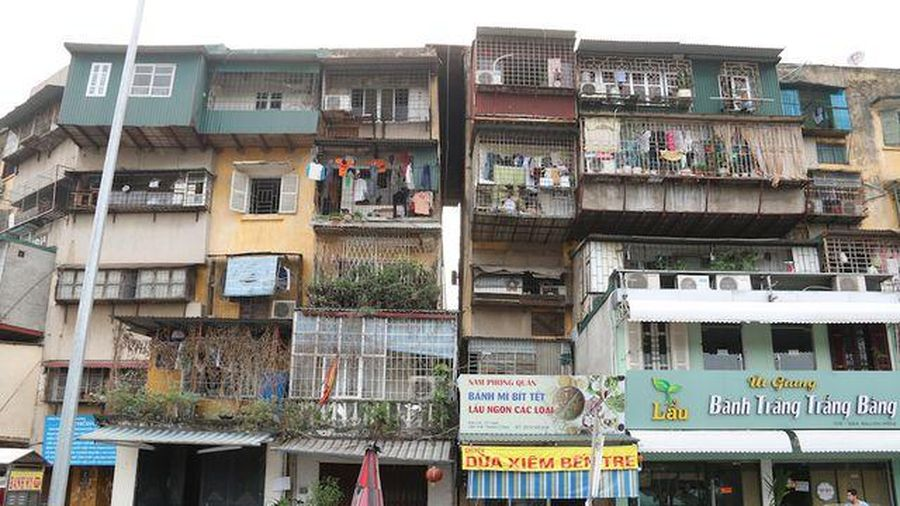 Chung cư – không gian sống mới của cư dân đô thị