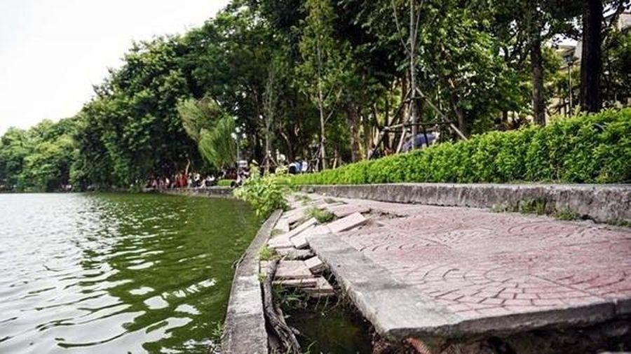 Dùng bê tông đúc sẵn để kè bờ hồ Hoàn Kiếm, Chủ tịch UBND TP Hà Nội: 'Tôi tin khi làm xong sẽ rất đẹp'