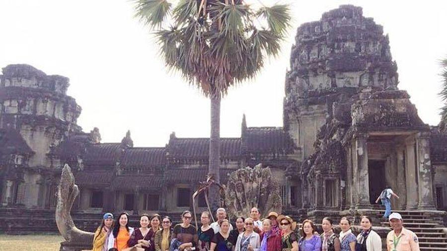 Campuchia đặt mục tiêu đón 1 triệu lượt du khách Việt Nam
