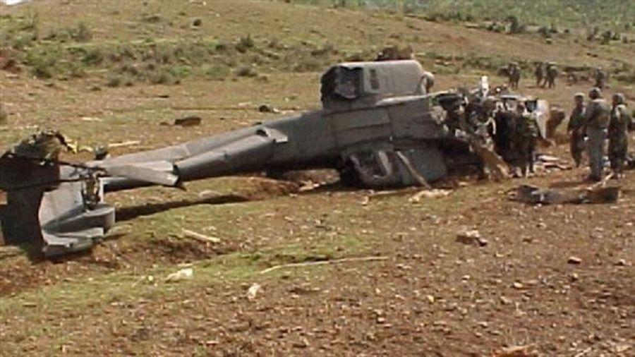 AH-64 Apache bị Taliban bắn hạ bằng Stinger