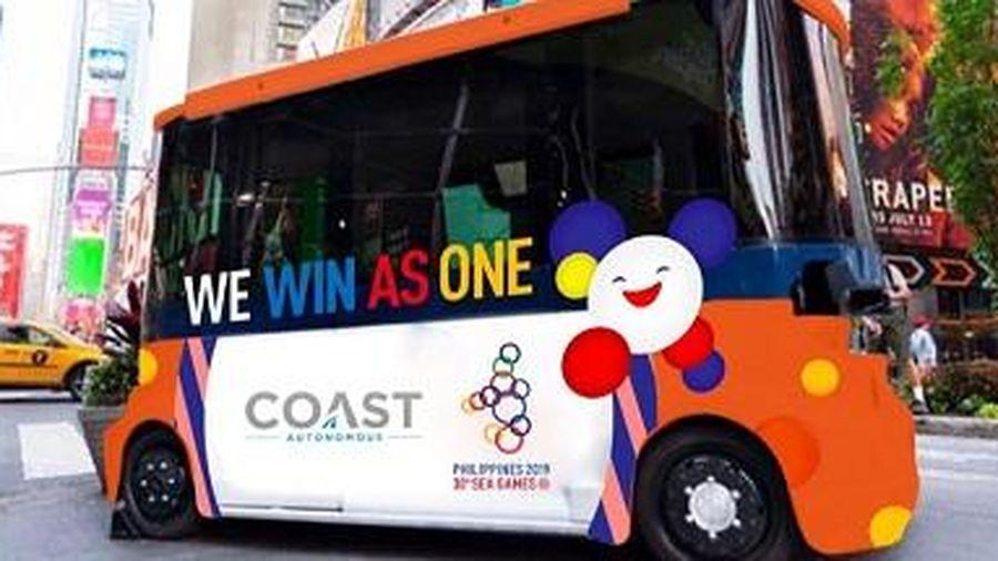 SEA Games 30 sử dụng xe buýt không người lái