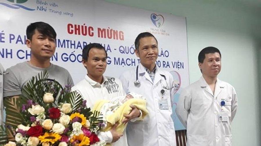 Ca chuyển gốc động mạch đặc biệt tại Bệnh viện Nhi Trung ương